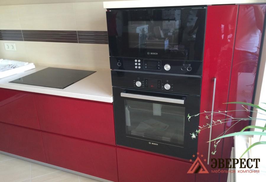 Кухня из МДФ крашенного №3