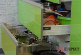 Кухни из пластика №43