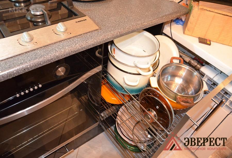 Кухни из пластика №59