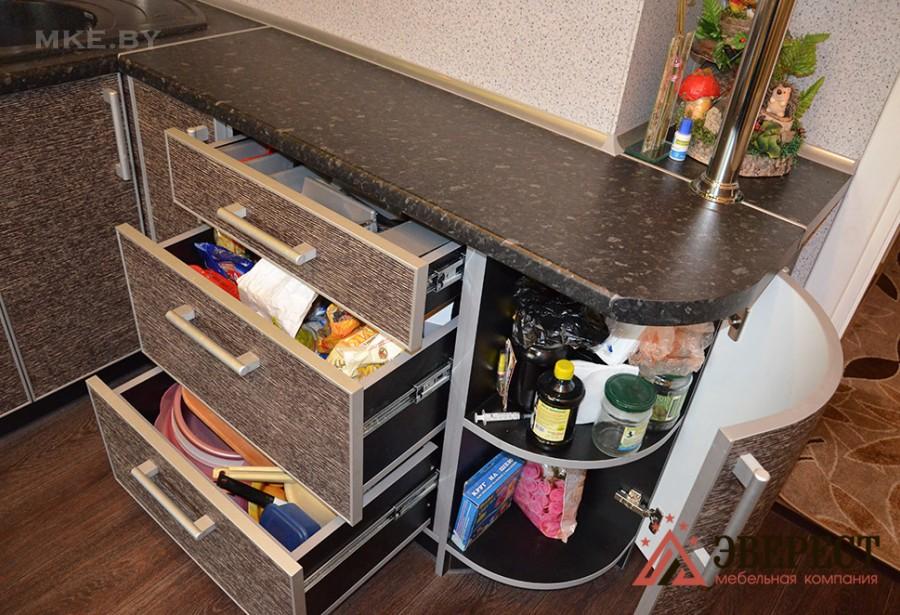 Кухни из пластика №73