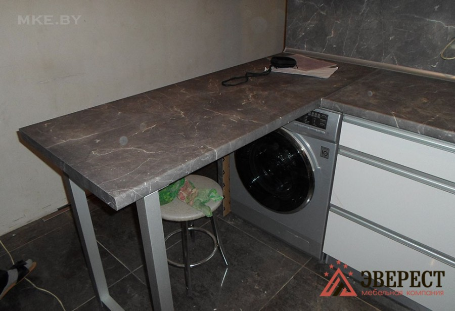 Кухни из пластика №48