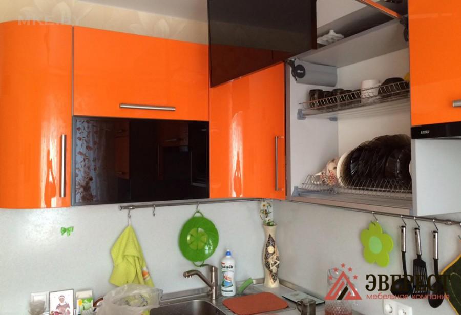 Кухня из МДФ крашенного №22
