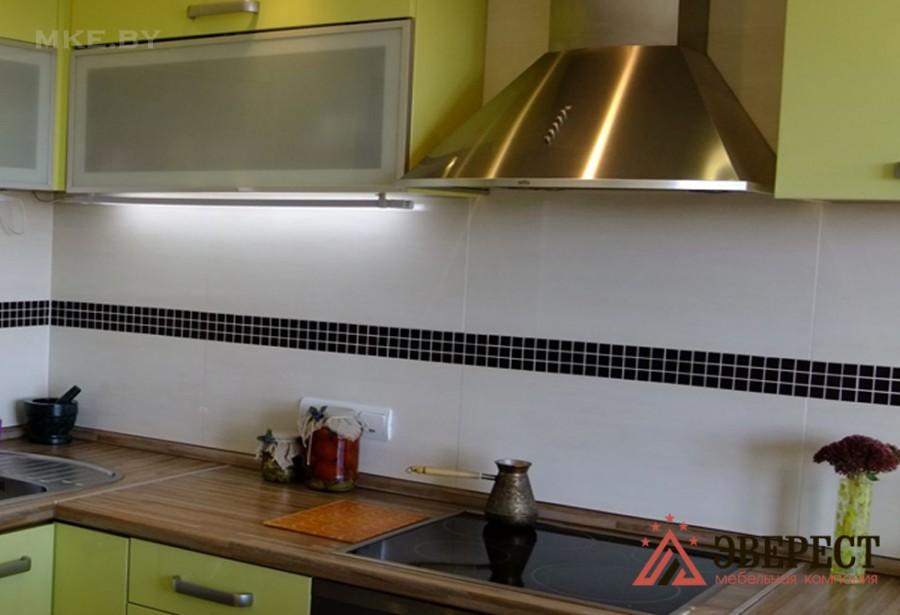 Кухня из МДФ крашенного №26