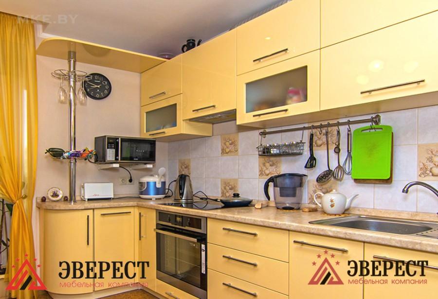 Кухня из МДФ крашенного №28