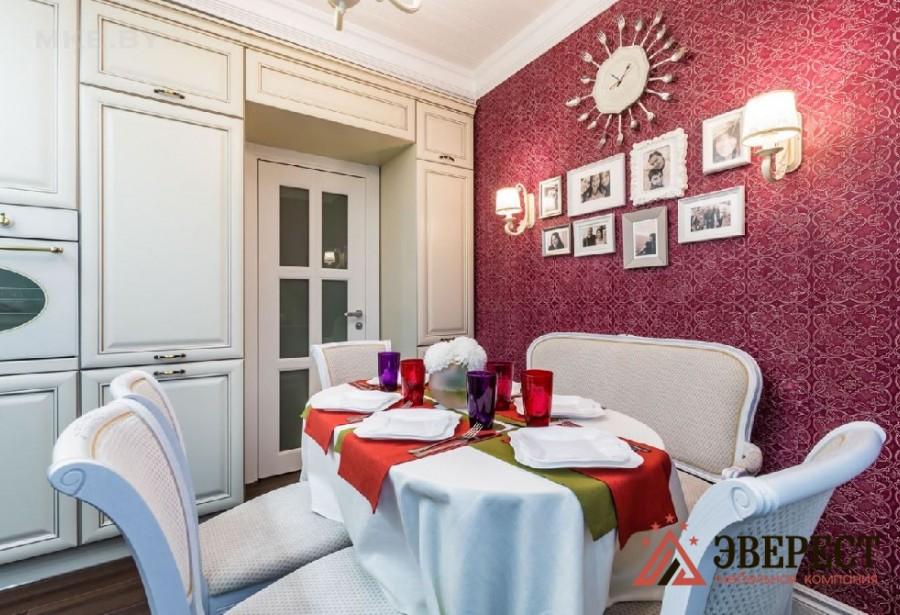 Кухня из МДФ крашенного №45