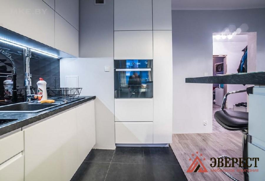 Кухня из МДФ крашенного №46