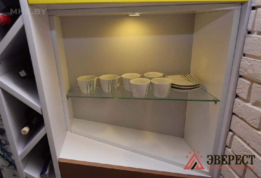Кухня из МДФ крашенного №49