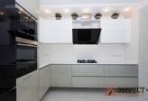 Кухня из МДФ крашенного № 73