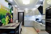 Кухня из МДФ крашенного № 55