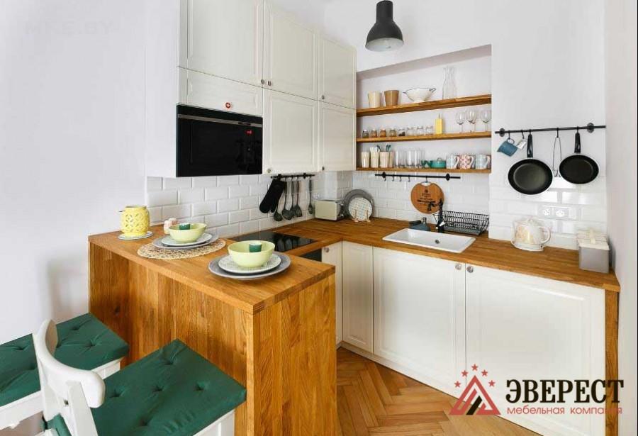 Кухня из МДФ крашенного № 54