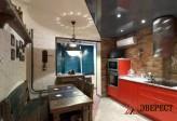 Кухня из МДФ крашенного № 62