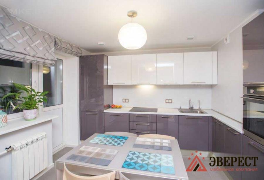 Кухня из акрила № 23