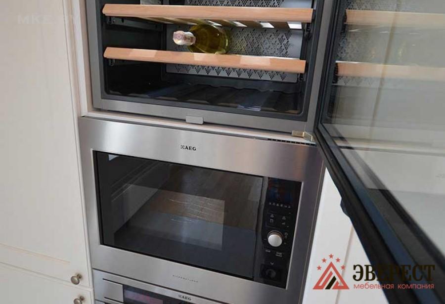 Кухни из МДФ рамочный № 13