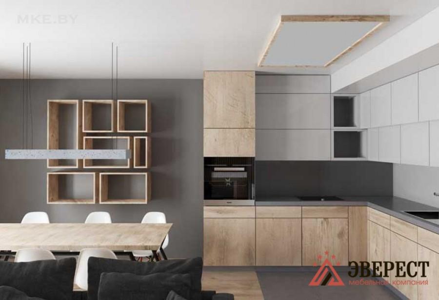 Угловая кухня №05
