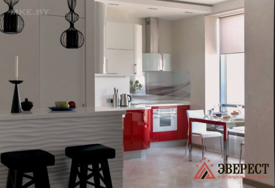 Угловая кухня №19