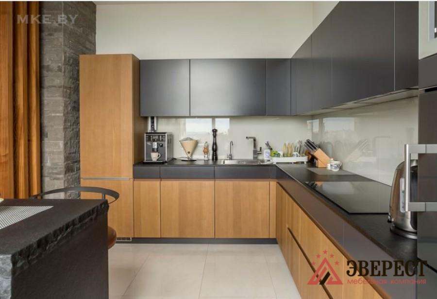 Кухня с барной стойкой №04
