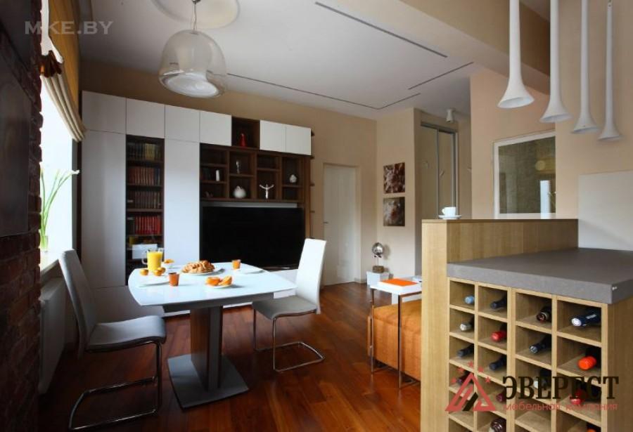 П - образная кухня №01