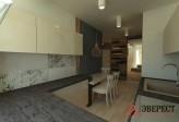 П - образная кухня №06