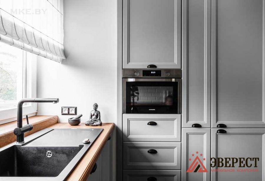 П - образная кухня №08