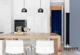 П - образная кухня №09