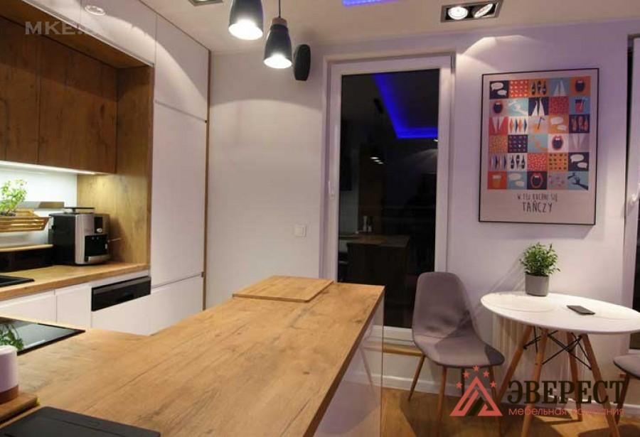 П - образная кухня №11