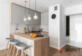 П - образная кухня №19