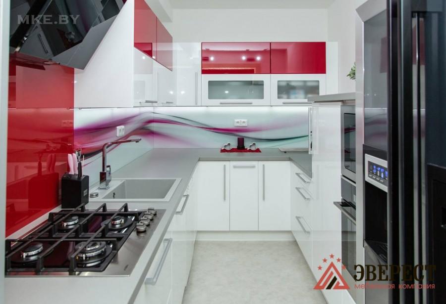 П - образная кухня №34
