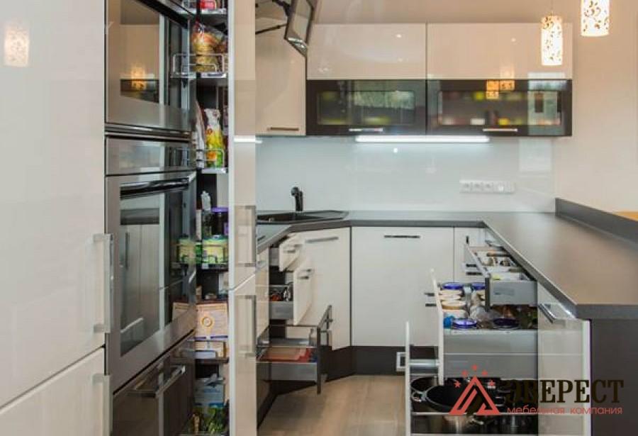 П - образная кухня №35