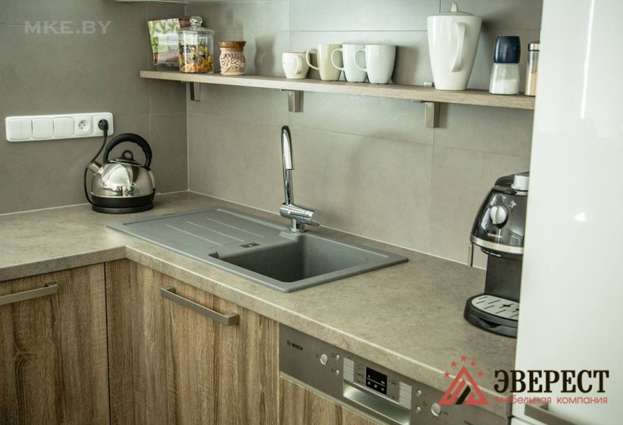 П - образная кухня №36