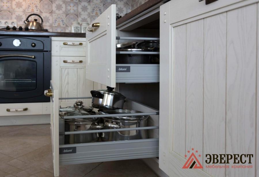 П - образная кухня №38