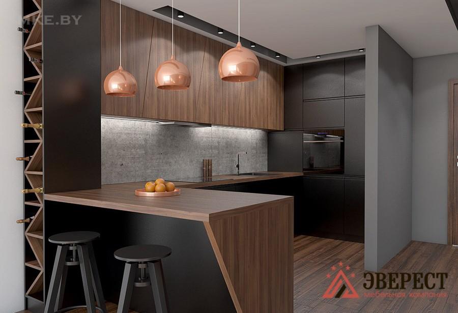 П - образная кухня №43