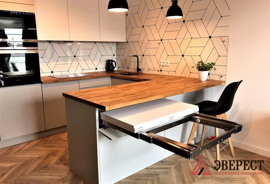 П - образная кухня №44