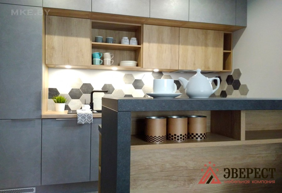 Прямая кухня № 50