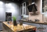 Угловая кухня №104
