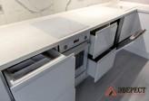 Угловая кухня №107