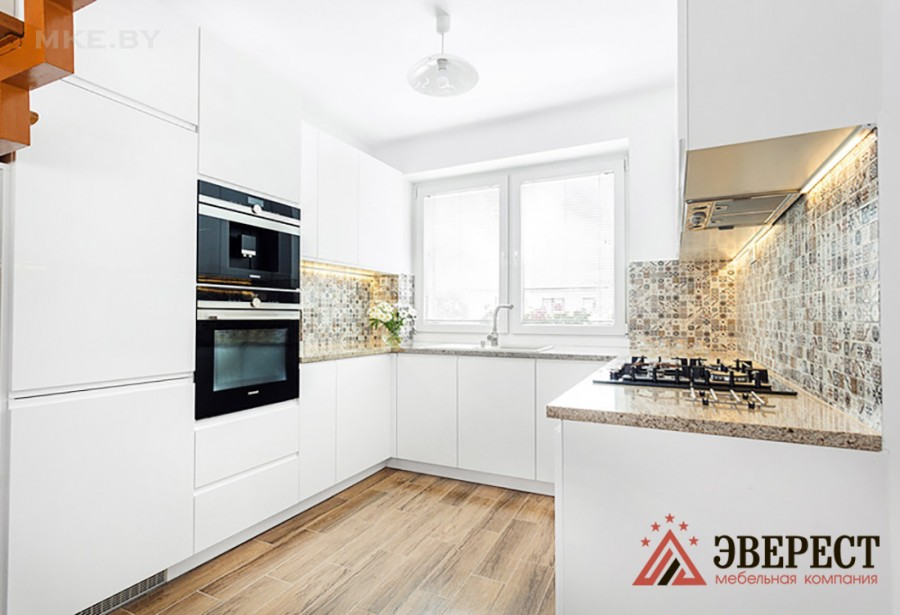 П - образная кухня №73