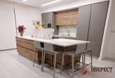 Кухня из пластика Феникс №4