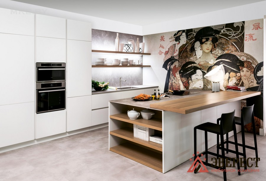 Кухня из пластика Феникс №10