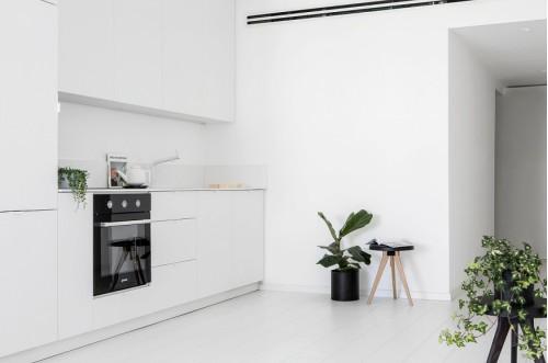 Кухня из пластика Феникс №18