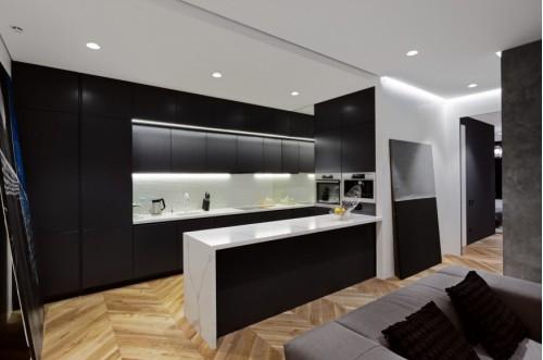 Кухня из пластика Феникс №20