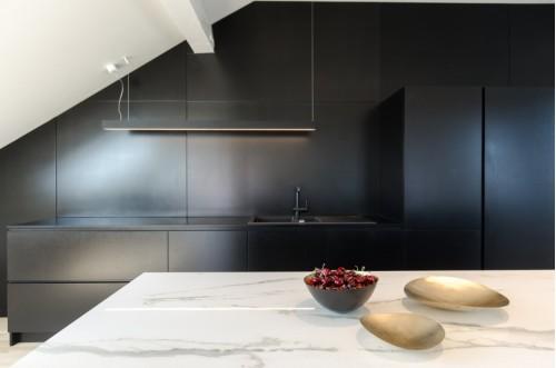 Кухня из пластика Феникс №21