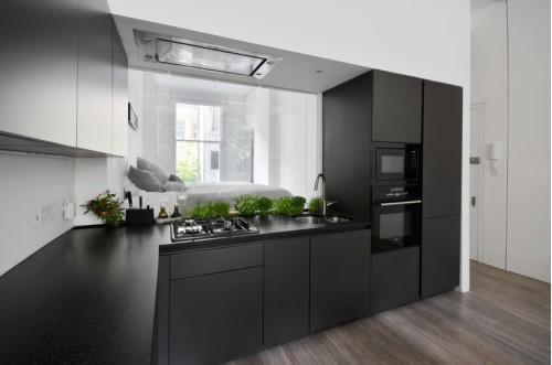Кухня из пластика Феникс №22