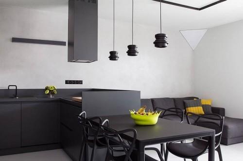 Кухня из пластика Феникс №7