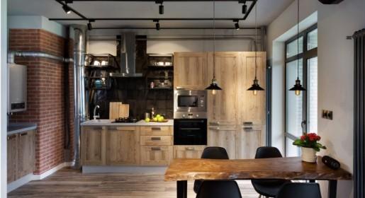 Кухни в стиле лофт