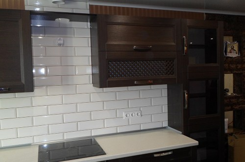 Кухня из МДФ рамочный №1