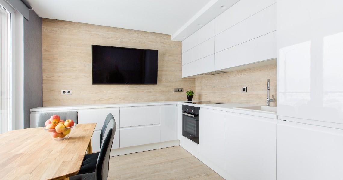Белые кухни в современном интерьере