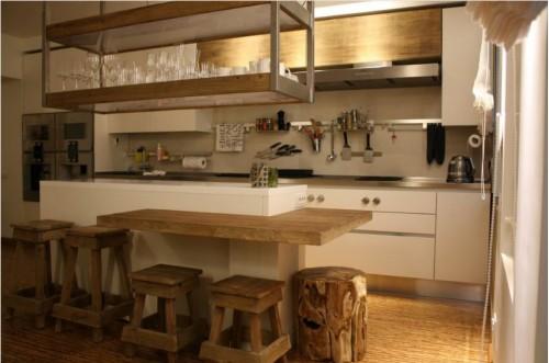 Кухня с островом №01