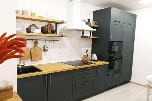 Угловая кухня №111